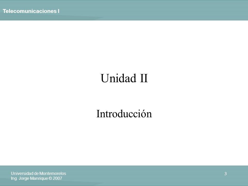 Unidad II Introducción