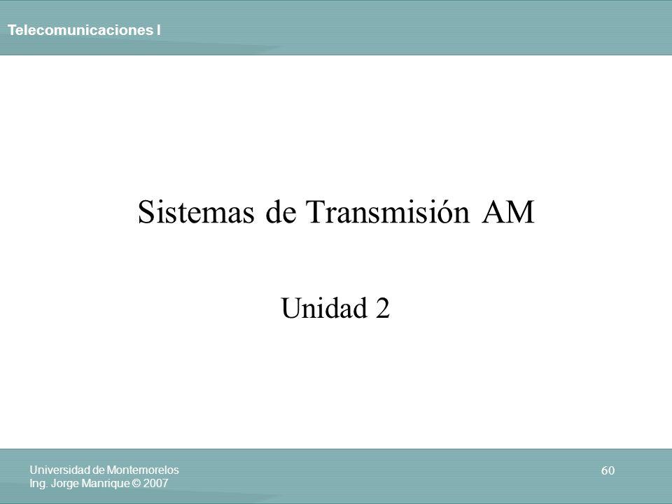 Sistemas de Transmisión AM