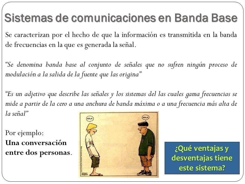 Sistemas de comunicaciones en Banda Base
