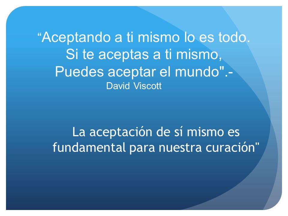 Puedes aceptar el mundo .-
