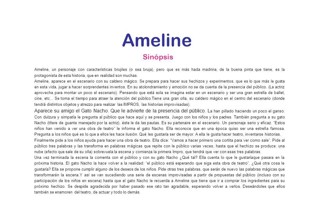 Ameline Sinópsis.