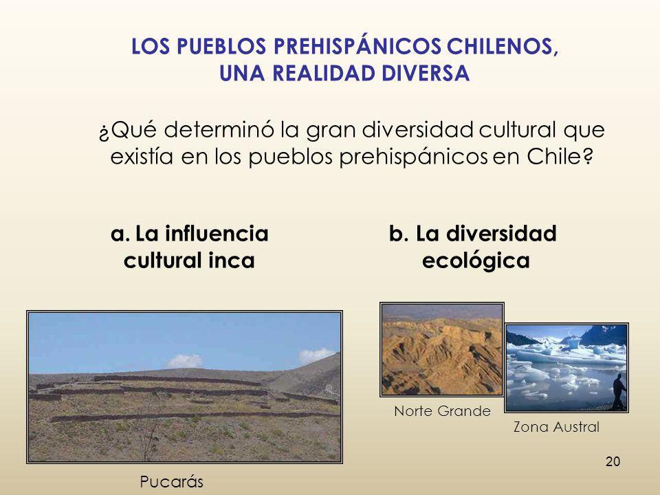 LOS PUEBLOS PREHISPÁNICOS CHILENOS,