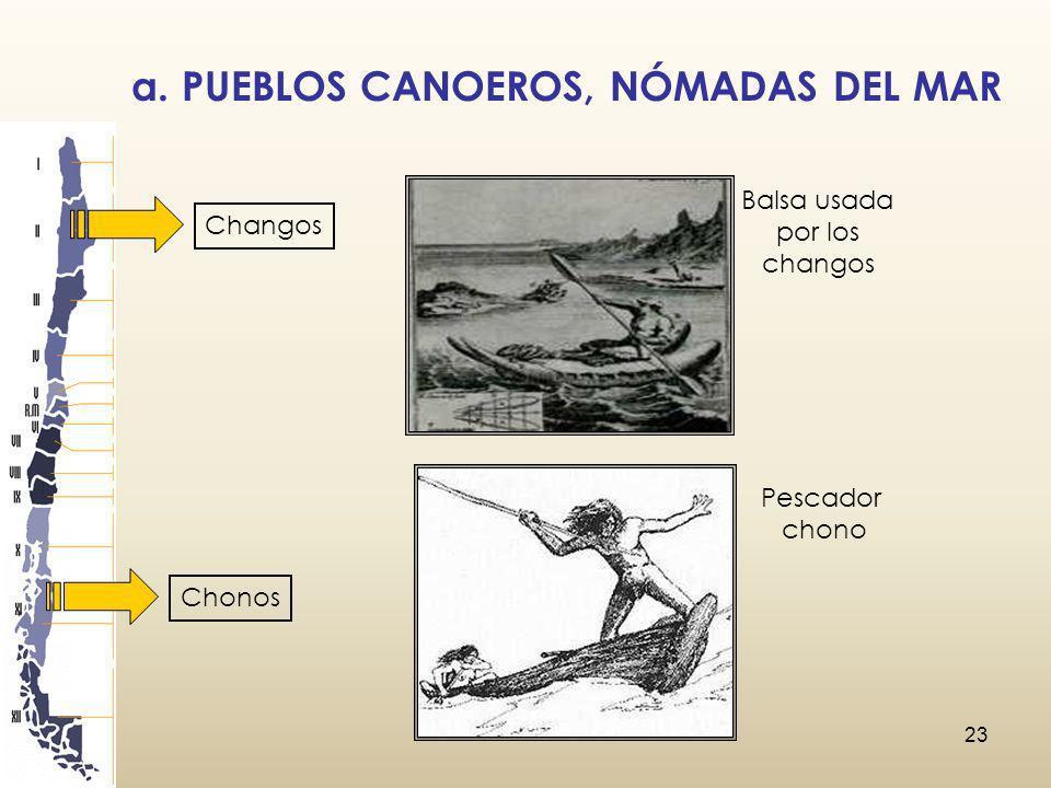 a. PUEBLOS CANOEROS, NÓMADAS DEL MAR