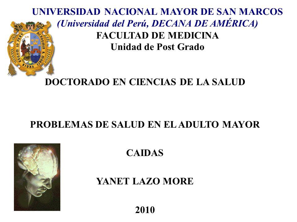 DOCTORADO EN CIENCIAS DE LA SALUD
