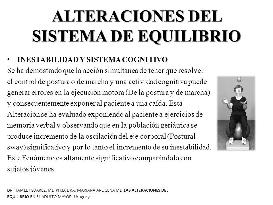 ALTERACIONES DEL SISTEMA DE EQUILIBRIO