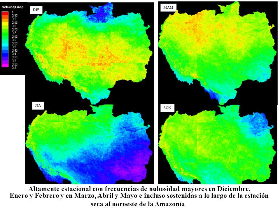 seca al noroeste de la Amazonía