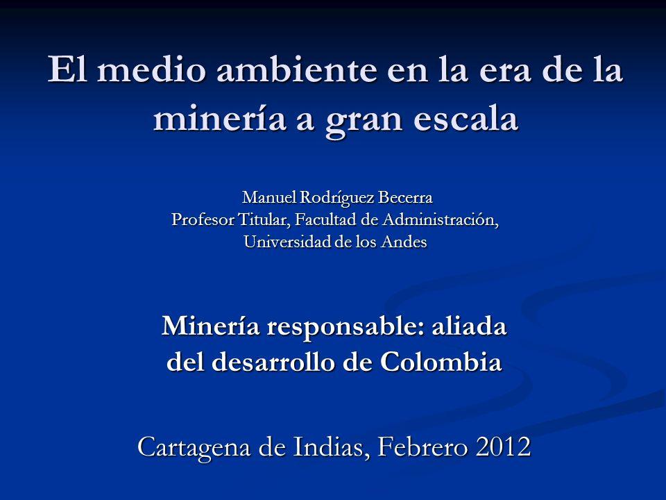 Minería responsable: aliada del desarrollo de Colombia