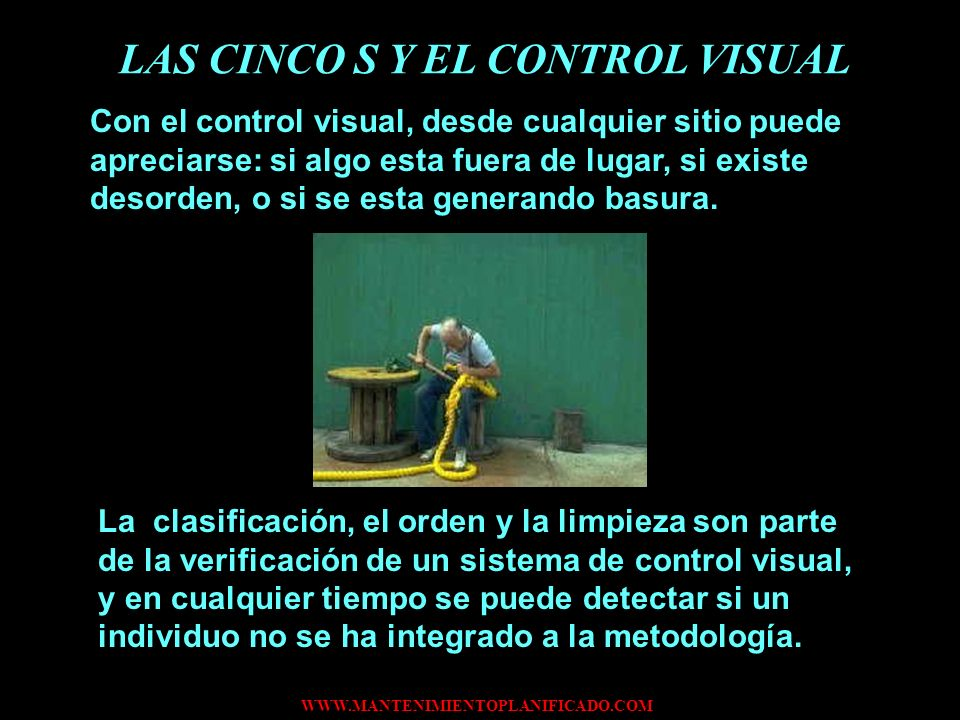 LAS CINCO S Y EL CONTROL VISUAL