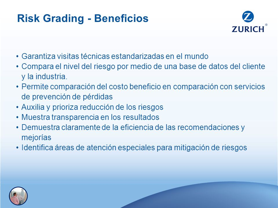 Risk Grading - Beneficios