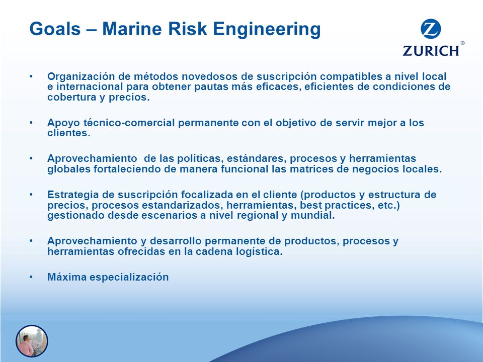 Goals – Marine Risk Engineering