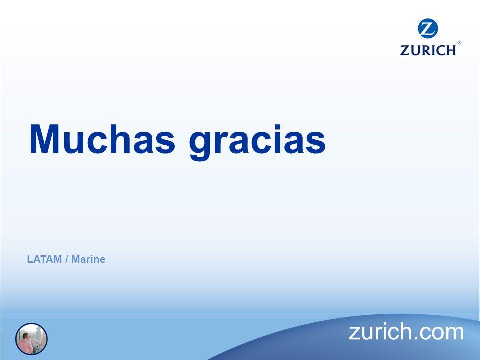 Muchas gracias LATAM / Marine zurich.com
