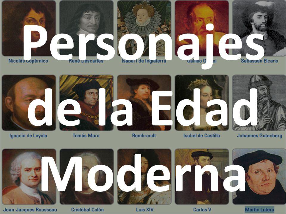 Personajes de la Edad Moderna