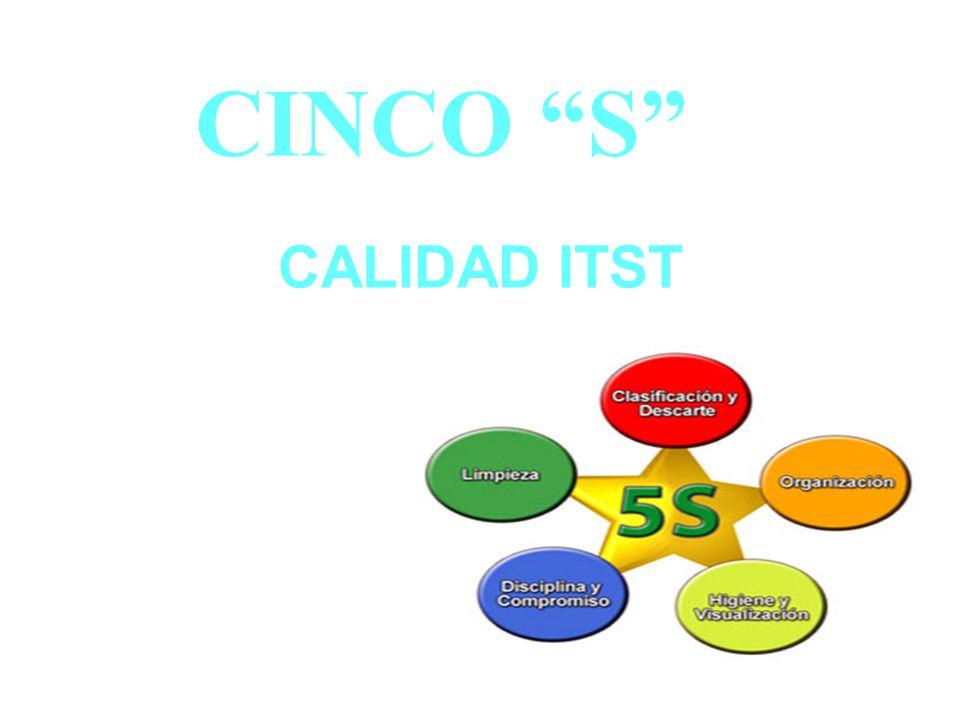 CINCO S CALIDAD ITST