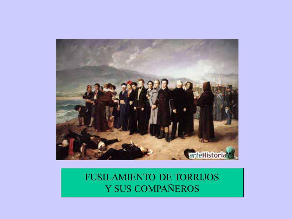 FUSILAMIENTO DE TORRIJOS