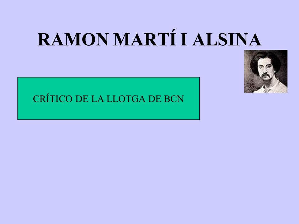 CRÍTICO DE LA LLOTGA DE BCN