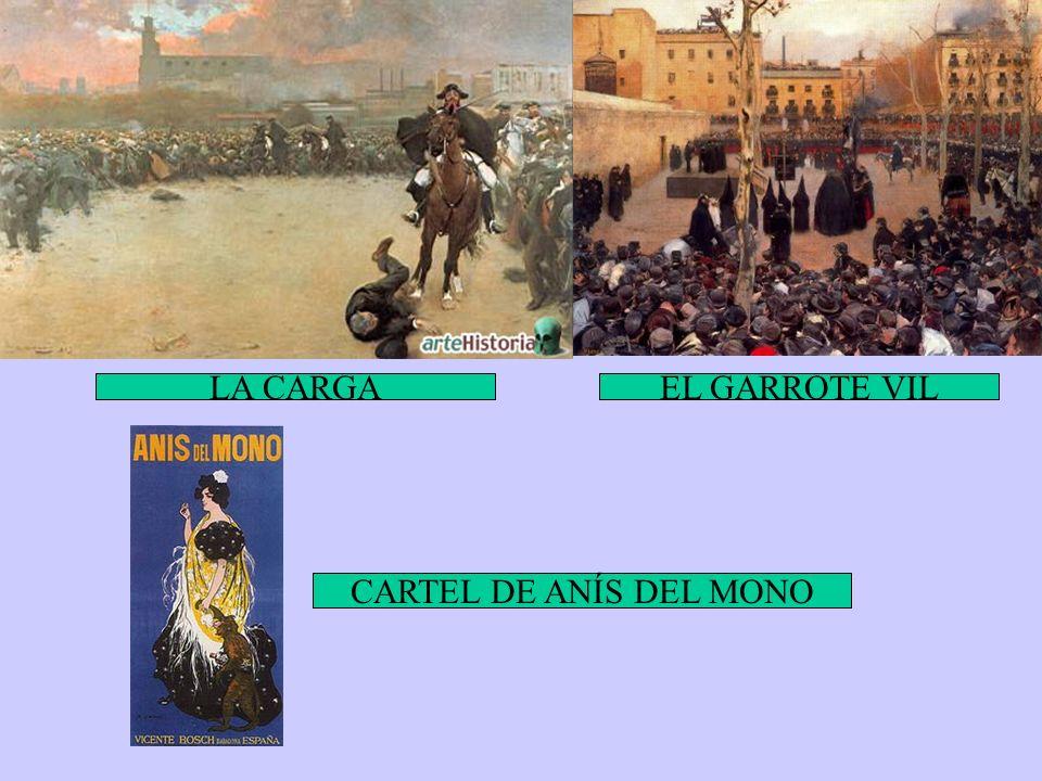 LA CARGA EL GARROTE VIL CARTEL DE ANÍS DEL MONO