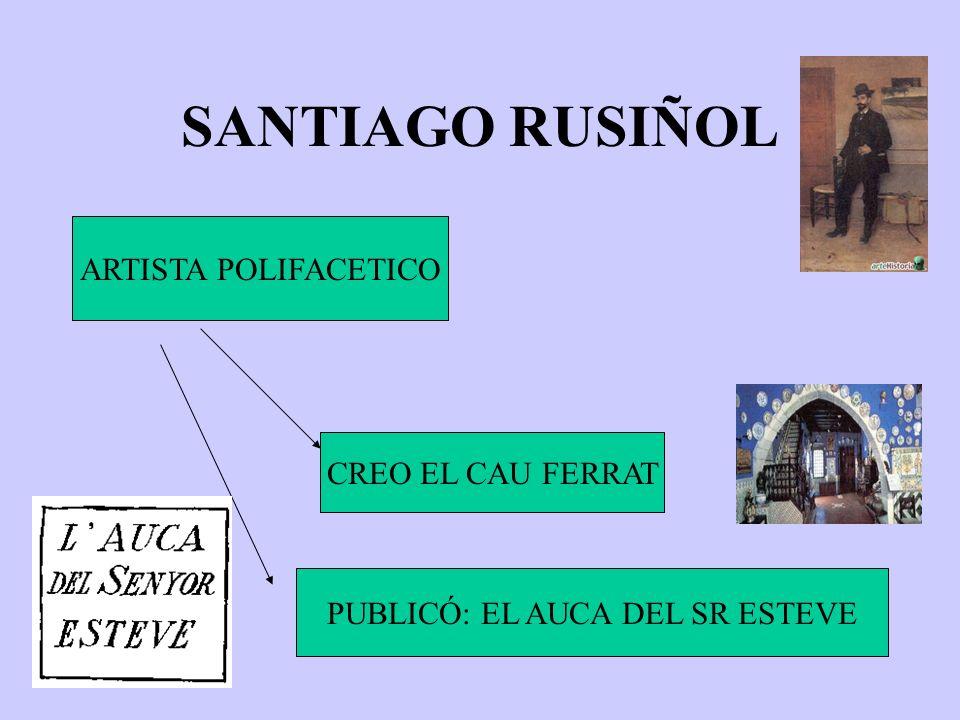 PUBLICÓ: EL AUCA DEL SR ESTEVE