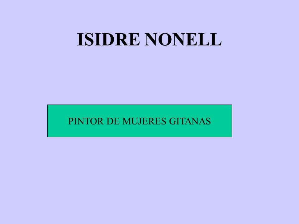 PINTOR DE MUJERES GITANAS