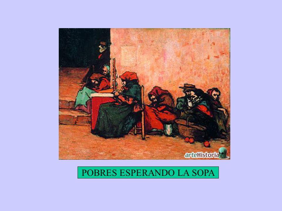 POBRES ESPERANDO LA SOPA