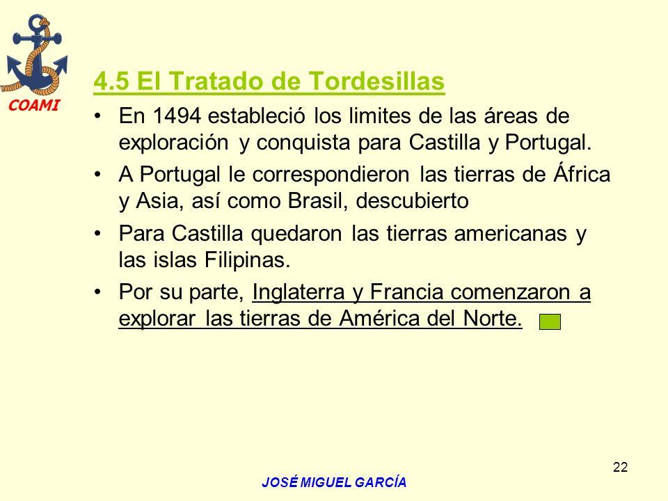 4.5 El Tratado de Tordesillas