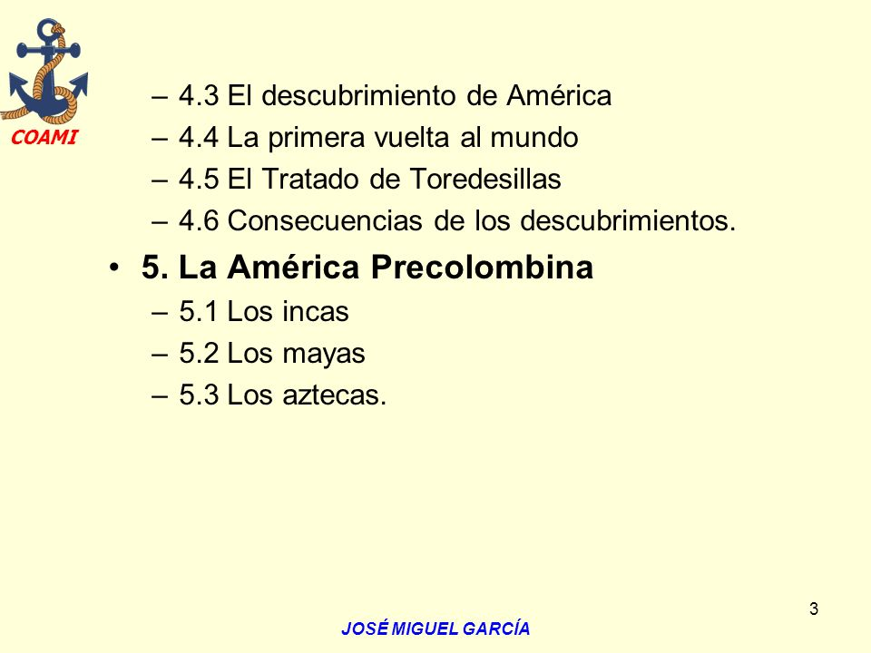 5. La América Precolombina