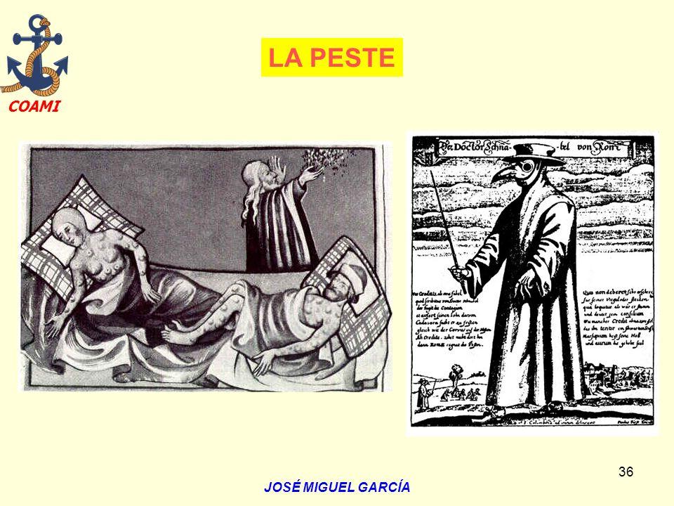 LA PESTE JOSÉ MIGUEL GARCÍA
