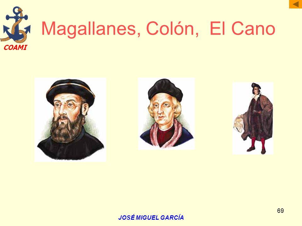 Magallanes, Colón, El Cano