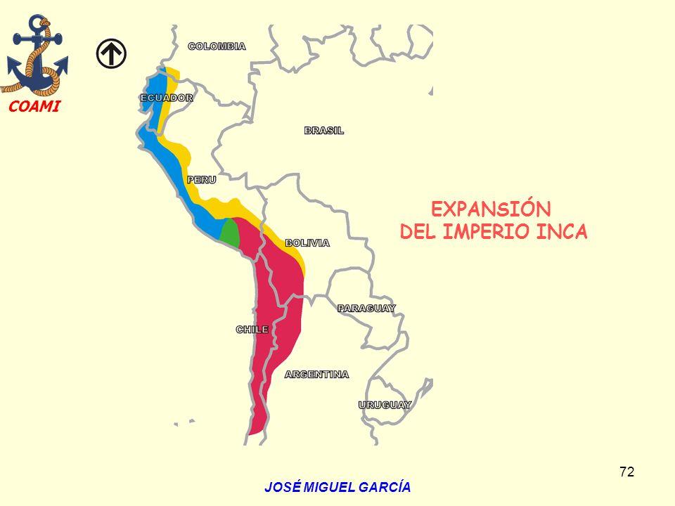 EXPANSIÓN DEL IMPERIO INCA