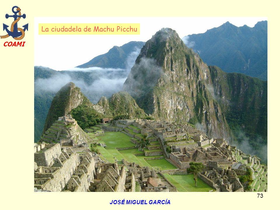La ciudadela de Machu Picchu