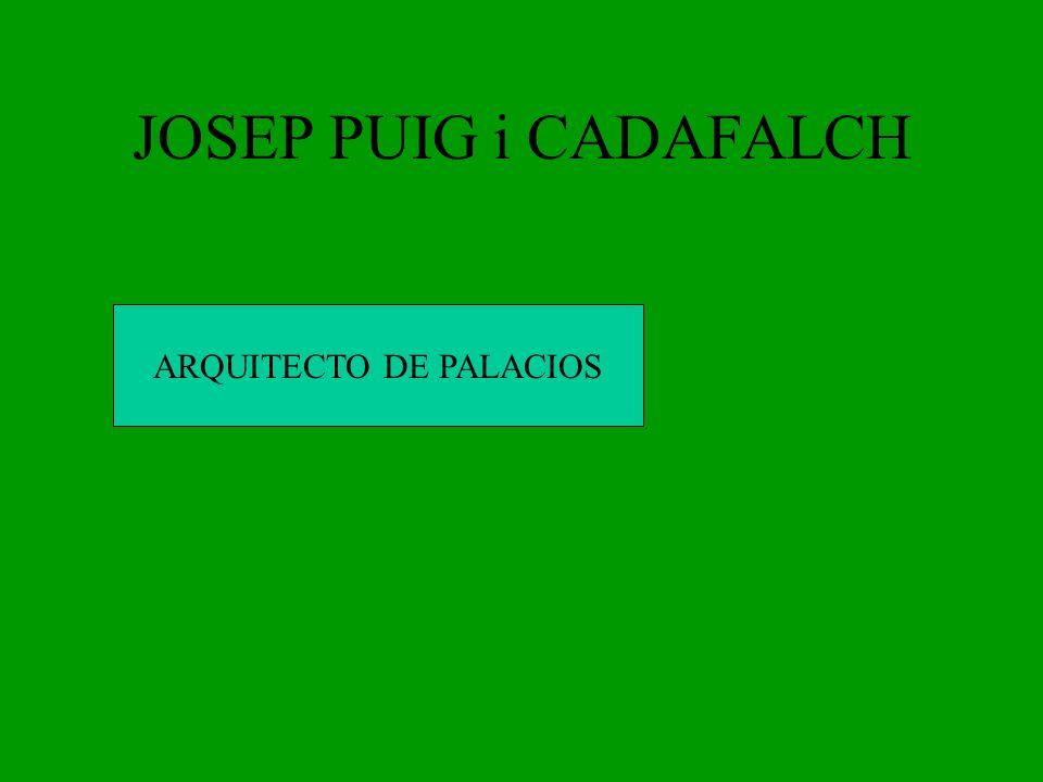ARQUITECTO DE PALACIOS