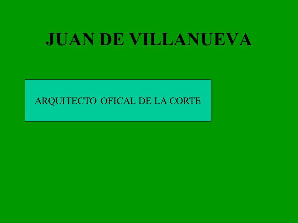 ARQUITECTO OFICAL DE LA CORTE