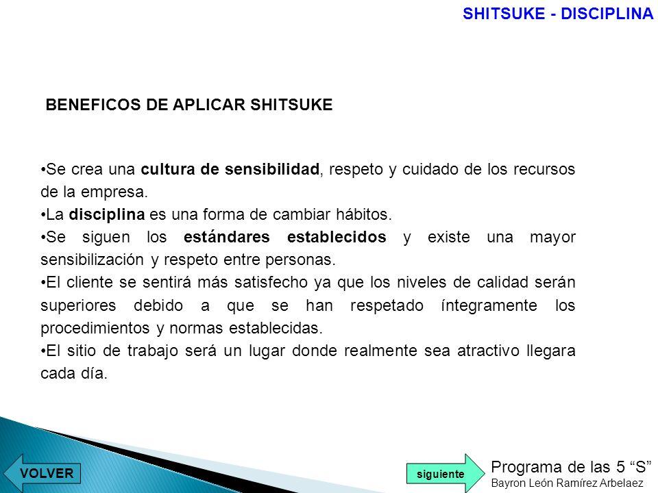 BENEFICOS DE APLICAR SHITSUKE