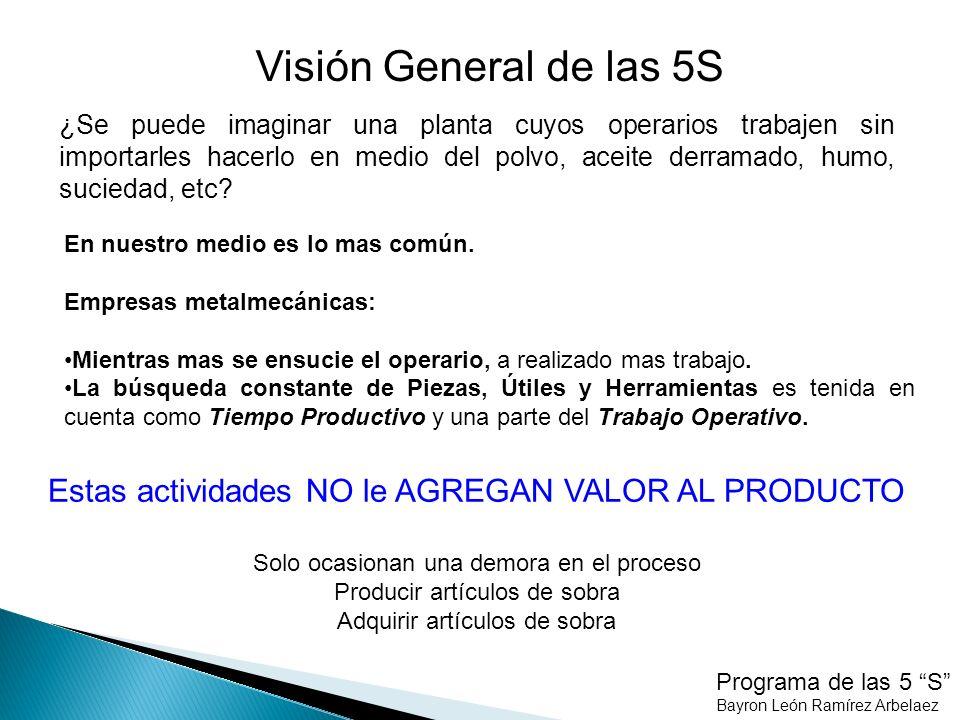 Visión General de las 5S