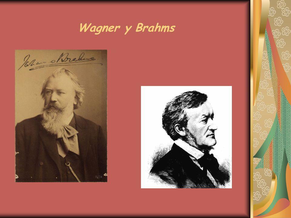 Wagner y Brahms