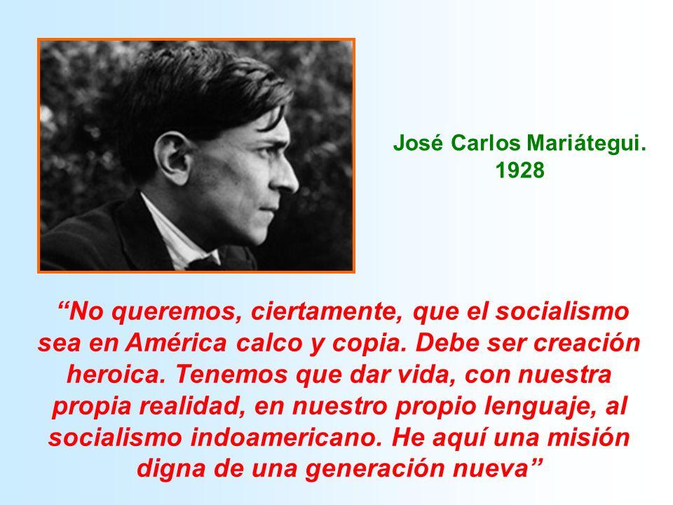 José Carlos Mariátegui. 1928