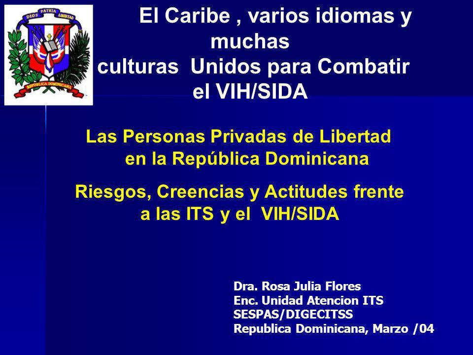 Las Personas Privadas de Libertad en la República Dominicana