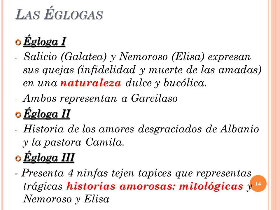 Las Églogas Égloga I.