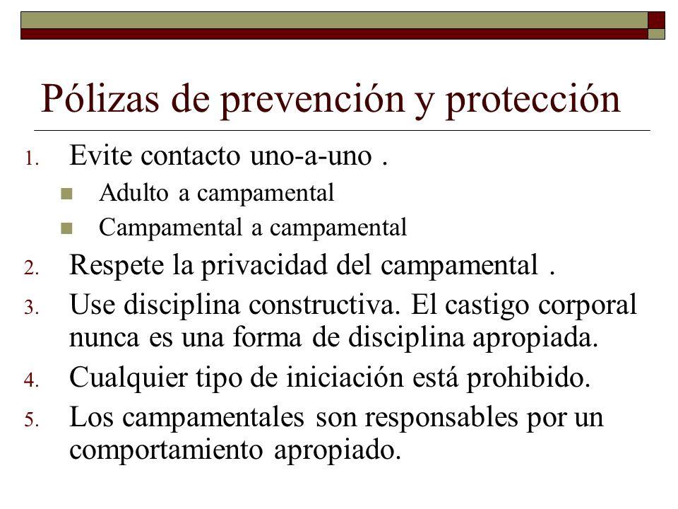 Pólizas de prevención y protección
