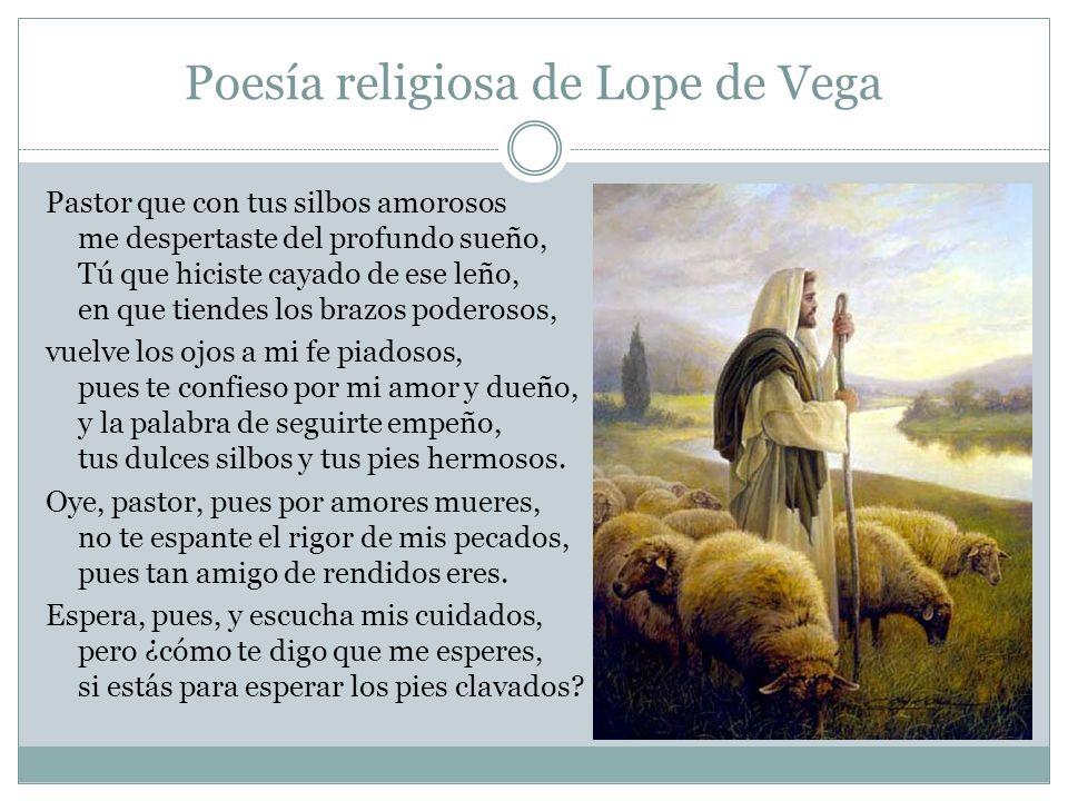 Poesía religiosa de Lope de Vega
