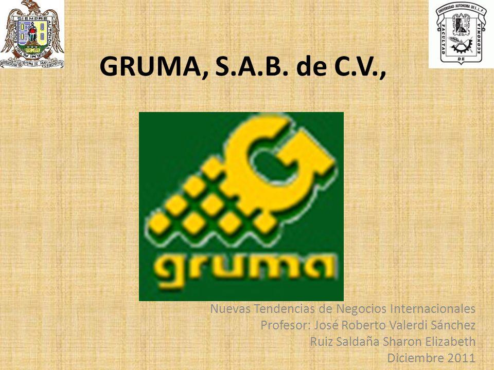 GRUMA, S.A.B. de C.V., Nuevas Tendencias de Negocios Internacionales