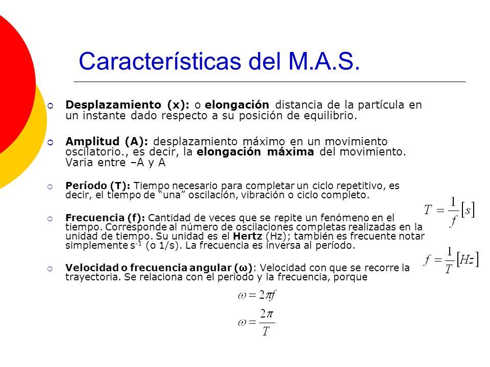 Características del M.A.S.