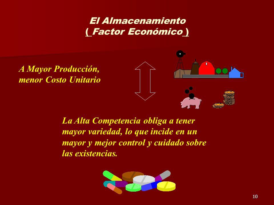 El Almacenamiento ( Factor Económico )