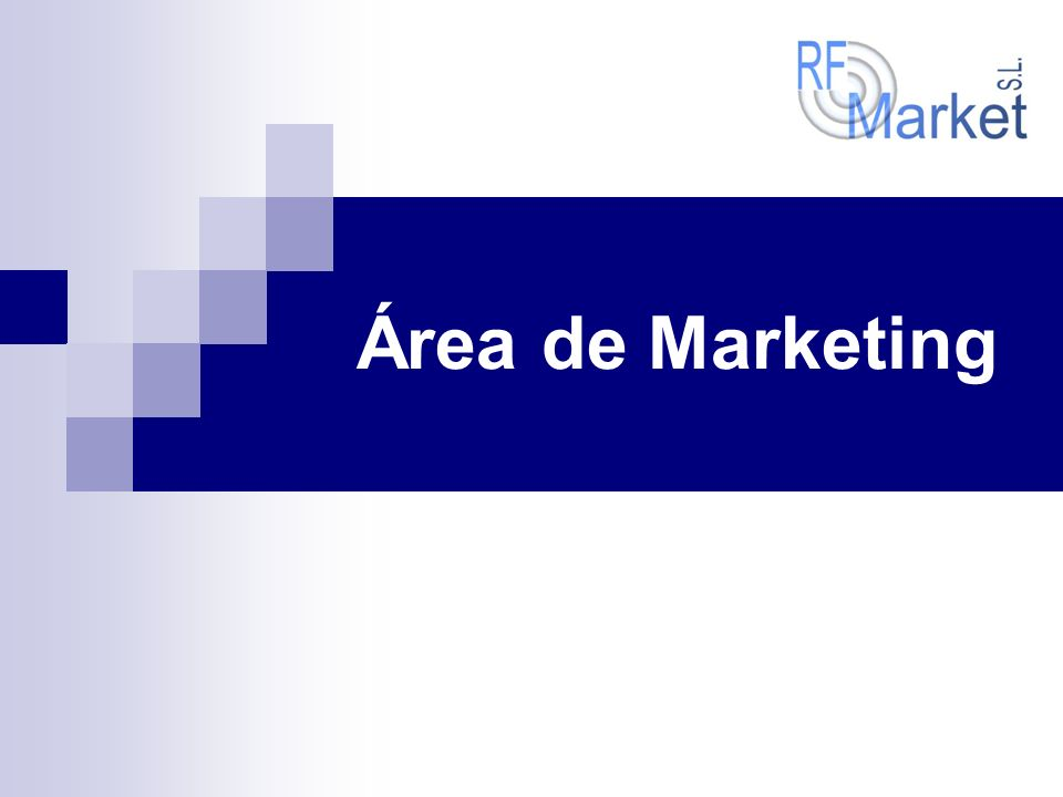 Área de Marketing