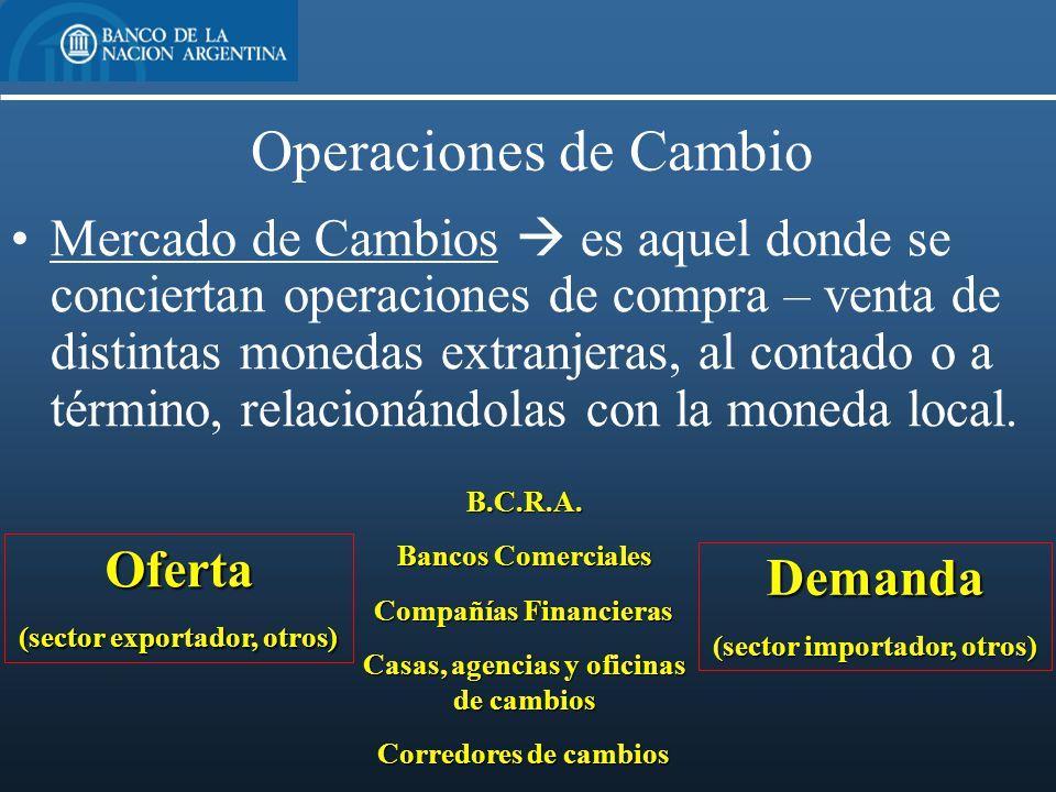 Medios de cobro y pago internacionales y financiaci n de for Oficinas de cambio de moneda en barcelona