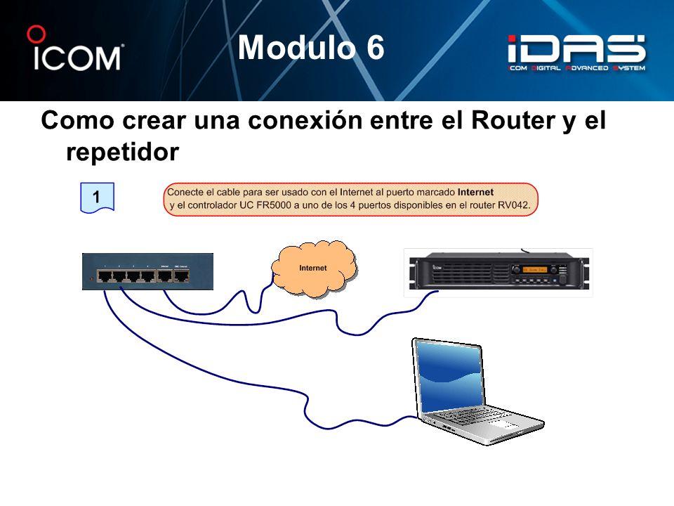 Como crear una conexión entre el Router y el repetidor