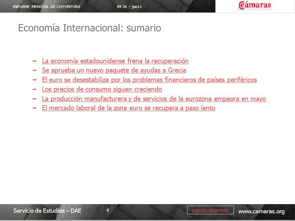 Economía Internacional: sumario