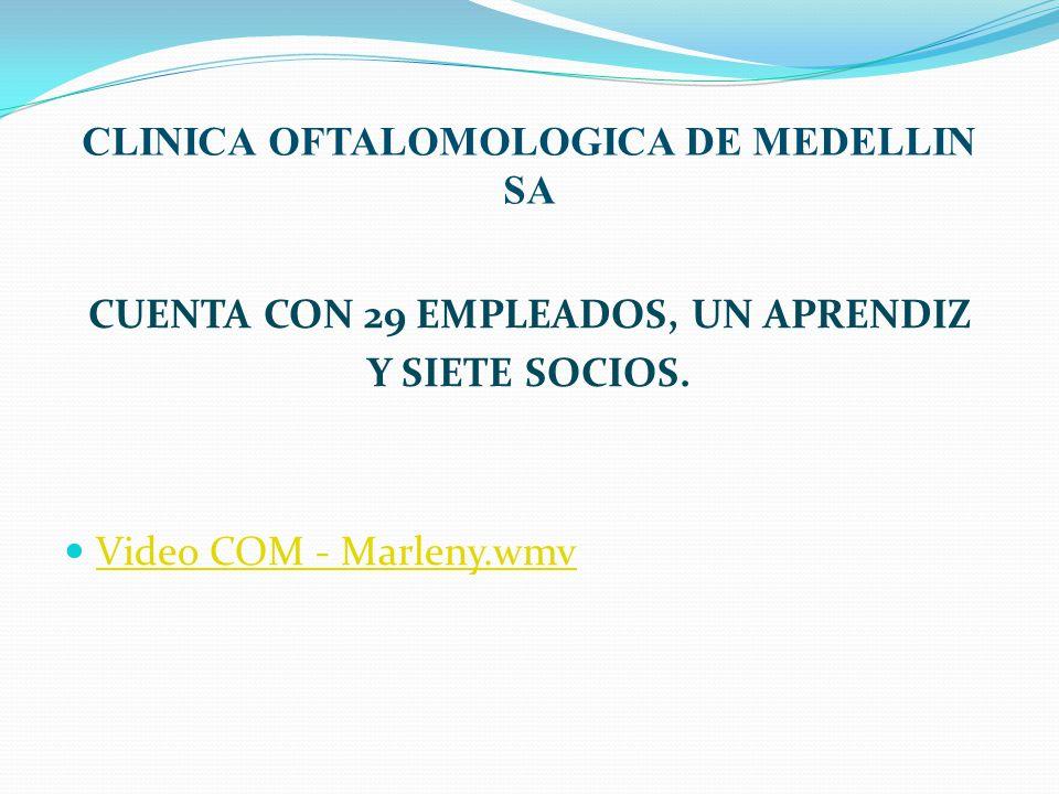 CLINICA OFTALOMOLOGICA DE MEDELLIN SA