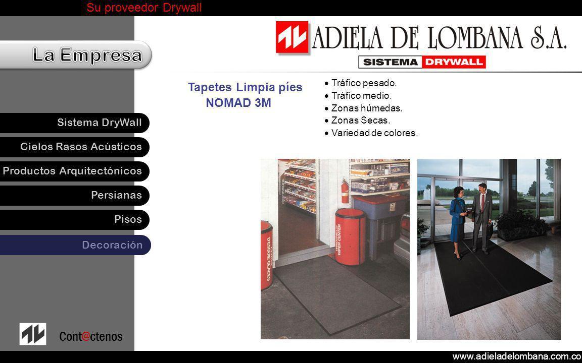 Tapetes Limpia píes NOMAD 3M