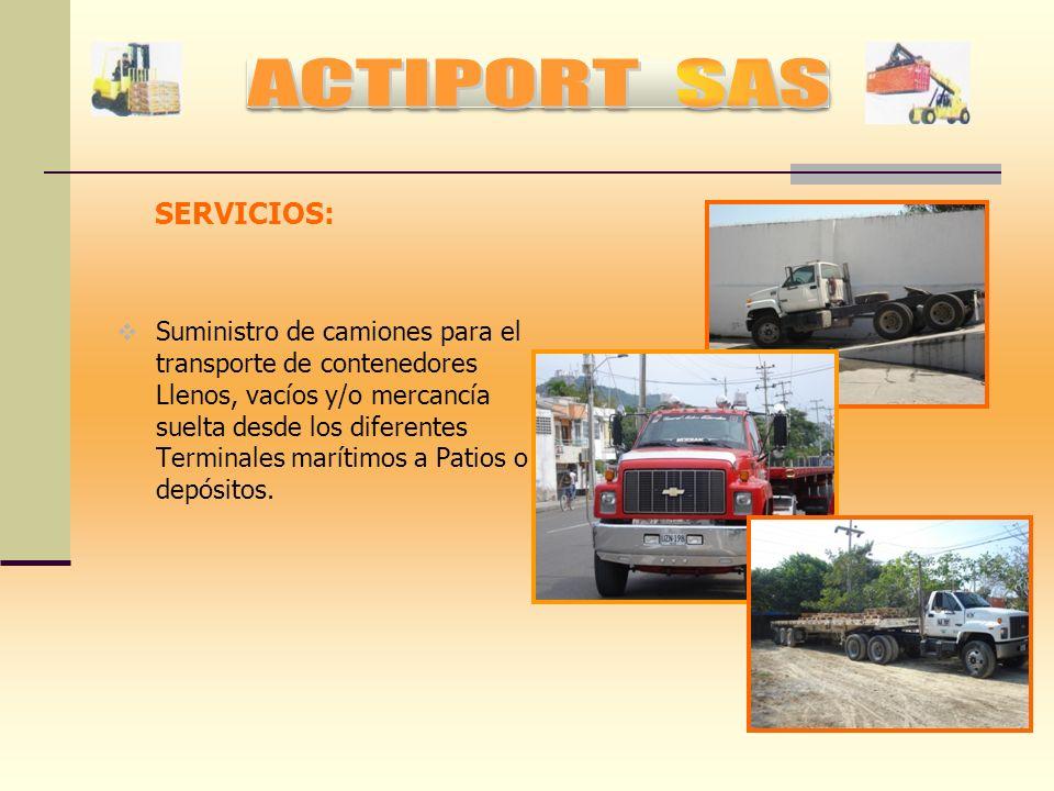 ACTIPORT SAS SERVICIOS: