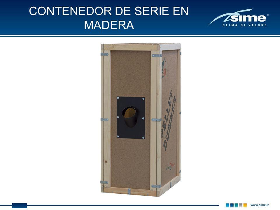 CONTENEDOR DE SERIE EN MADERA